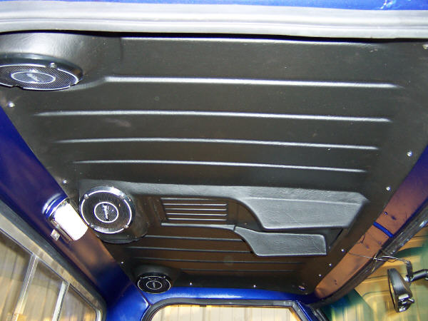 Headliner With Speakers And Console The 1947 Present